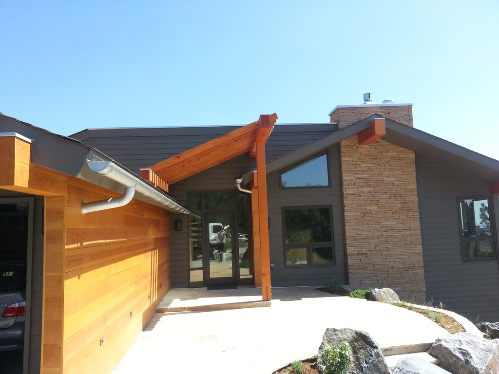 Round Downspout Precision Seamless Gutters