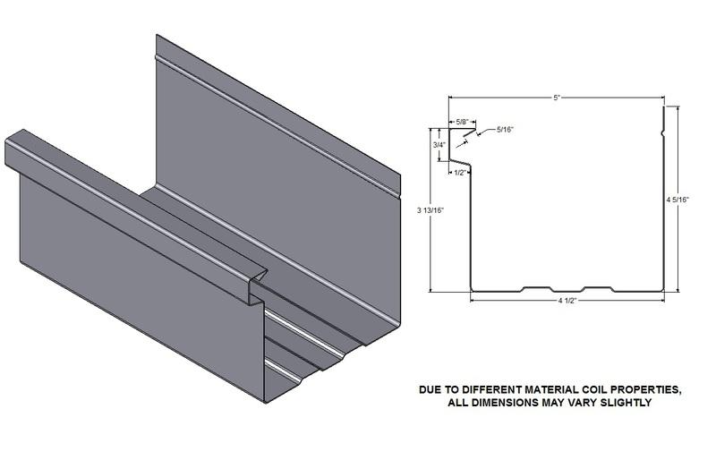 Gutter & Downspout profiles - Precision Seamless Gutters