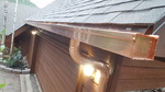 Copper Box Gutter