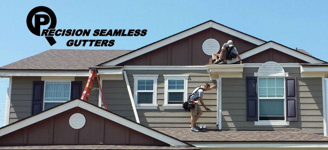 Gutters downspouts seamless rain gutter installation co seamless gutter home solutioingenieria Images